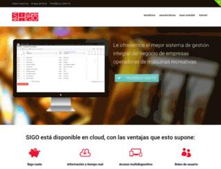 sigocrm.es screenshot