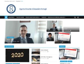 sigortadenetim.org screenshot