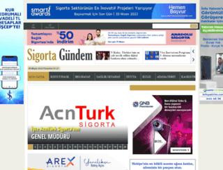 sigortagundem.com screenshot