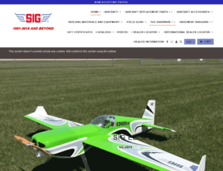 sigplanes.com screenshot