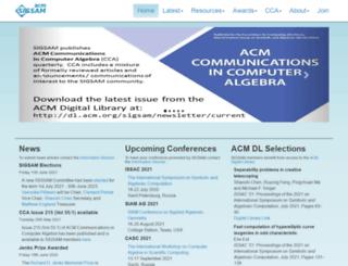 sigsam.org screenshot