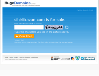 sihirlikazan.com screenshot