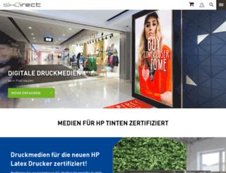 sihl-direct.de screenshot