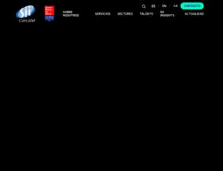 sii-group.es screenshot