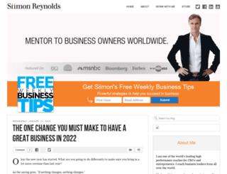 siimonreynolds.com screenshot