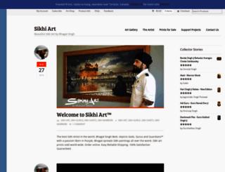 sikhiart.com screenshot