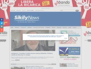 sikilynews.it screenshot