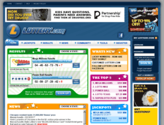 sikim.lottery.com screenshot