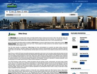 sikkagroups.in screenshot