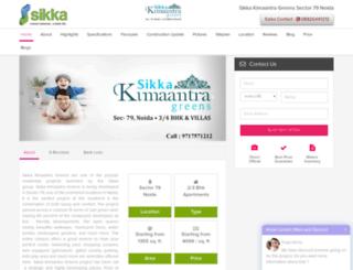 sikkakimantragreens.co.in screenshot