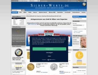 silber-werte.de screenshot