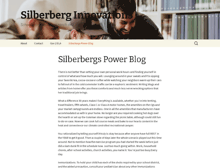 silberberginnovations.com screenshot