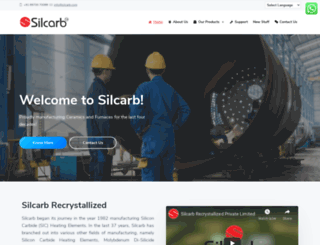 silcarb.com screenshot