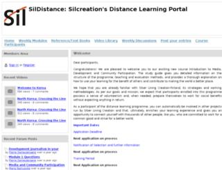 sildistance.net screenshot