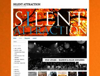 silentattraction.wordpress.com screenshot
