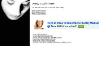 silentdating.com screenshot