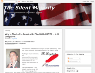 silentmajority09.blogspot.com screenshot