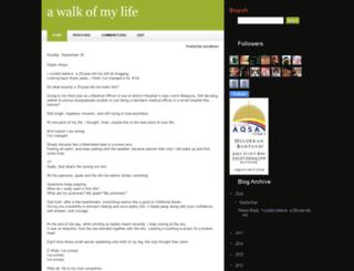 silentmeteor.blogspot.com screenshot