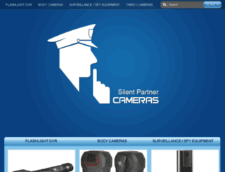 silentpartnercameras.ca screenshot