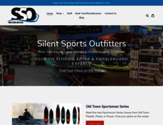 silentsportsoutfitters.com screenshot