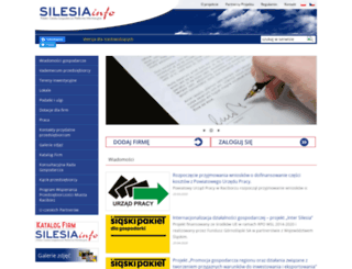 silesiainfo.org screenshot