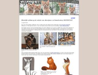 silfescian-cats.nl screenshot