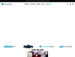silhouetteamerica.com screenshot