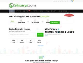 silicasys.com screenshot