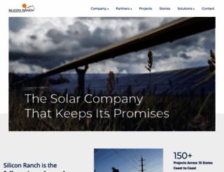 siliconranch.com screenshot