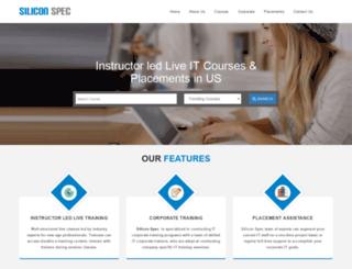 siliconspec.com screenshot