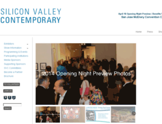 siliconvalleycontemporary.com screenshot
