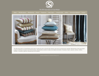 silk.org.uk screenshot