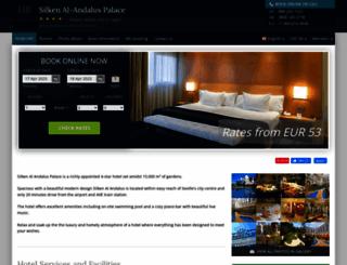 silken-al-andalus.hotel-rez.com screenshot