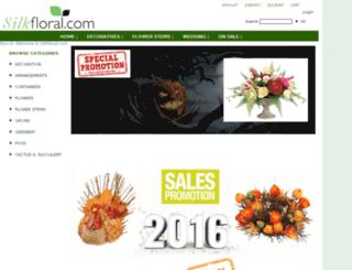 silkfloral.com screenshot