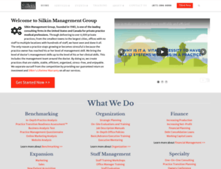 silkinmanagementgroup.com screenshot