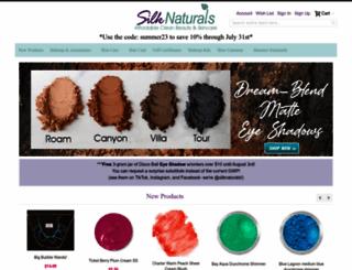 silknaturals.com screenshot