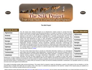 silkproject.org screenshot