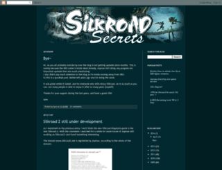 silkroadsecrets.blogspot.com screenshot
