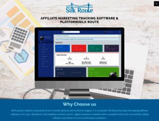 silkroutenet.com screenshot