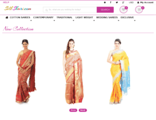 silkshari.com screenshot