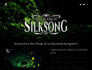 silksong.com screenshot