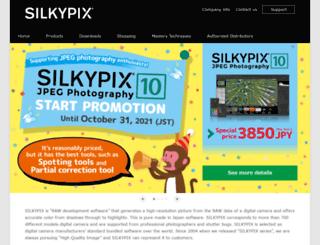 silkypix.com screenshot