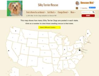silkyterrier.rescueme.org screenshot