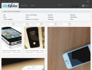 sillydollar.com screenshot