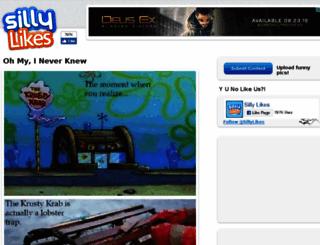 sillylikes.com screenshot