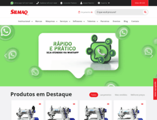 silmaq.com.br screenshot