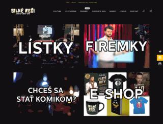 silnereci.sk screenshot