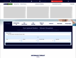 siloamhospitals.com screenshot