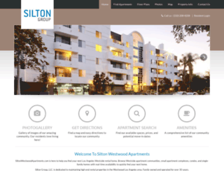 siltonwestwoodapartments.securecafe.com screenshot