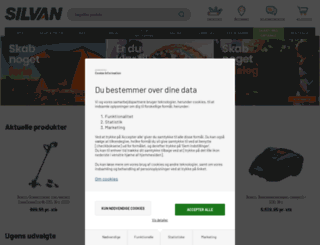 silvan.dk screenshot